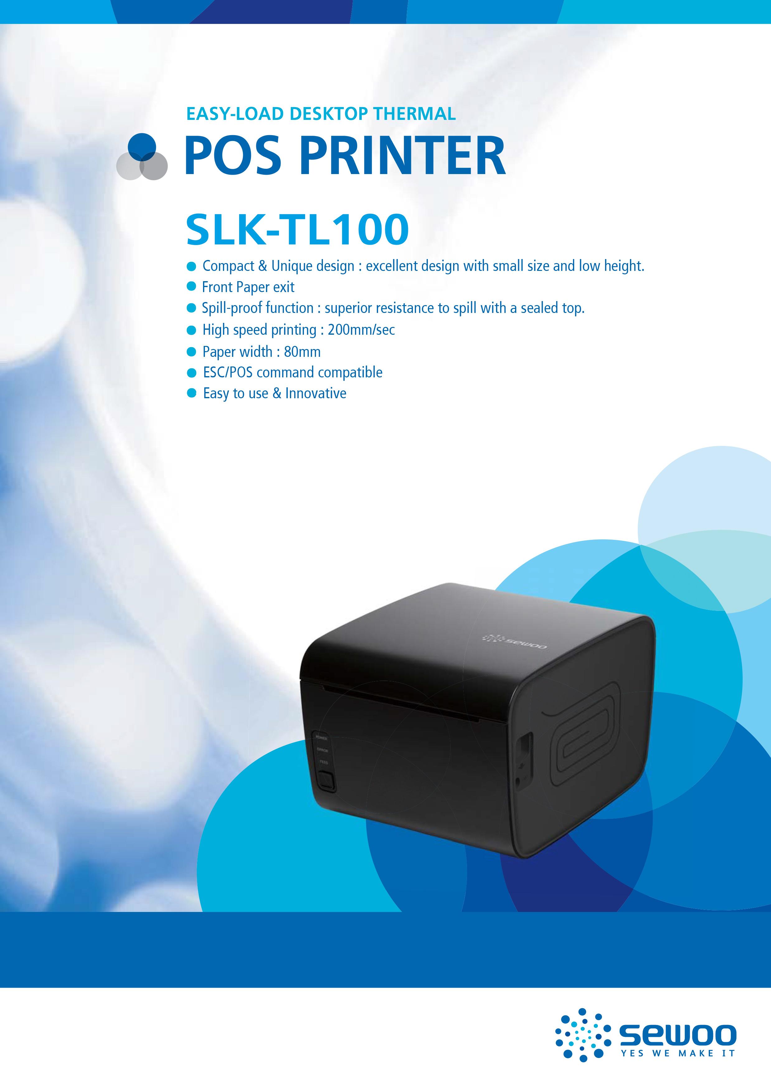 Image result for Sewoo SLK-TL100